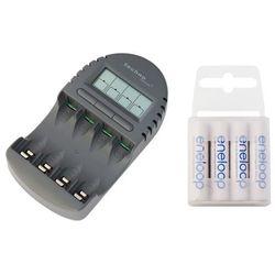 ładowarka BC-450 + 4 x R6/AA Panasonic Eneloop R03 AAA 800mAh BK-4MCCE/4T (box)