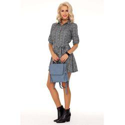 4ba57a2f69 suknie sukienki asos plus size ladna sukienka w kratke (od Sukienka ...