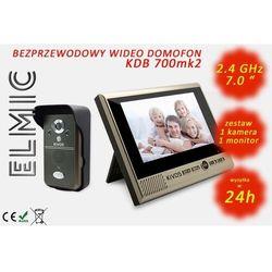 Wielofunkcyjny bezprzewodowy wideo domofon z funkcją dzwonka ELMIC KIVOS KDB700mk2