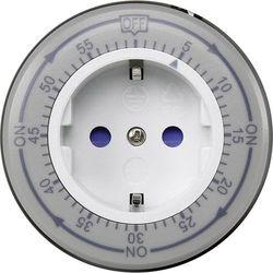 Sterownik czasowy GAO, 3680 W 16 A, Program dniowy, IP20, (SxWxG) 82 x 82 x 78 mm