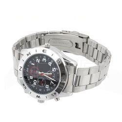 Mini kamera ukryta w zegarku, rozdzielczość nagrań 1280x960, matalowy ZEGAREK, 169A