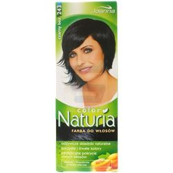 Joanna Naturia Color Farba do włosów Czarny Bez nr 243