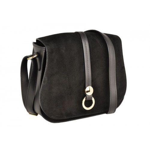 a43f2318491ba Damskie torebki listonoszki - Barberini's - Czarny - porównaj zanim ...