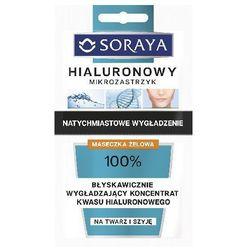 Soraya Hialuronowy Mikrozastrzyk Maseczka żelowa-koncentrat saszetka 5ml