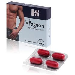Viageon 4 tabletki - na problemy z potencją
