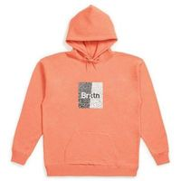 bluza BRIXTON - Crowd Hooded Fleece Coral (CORAL) rozmiar: L