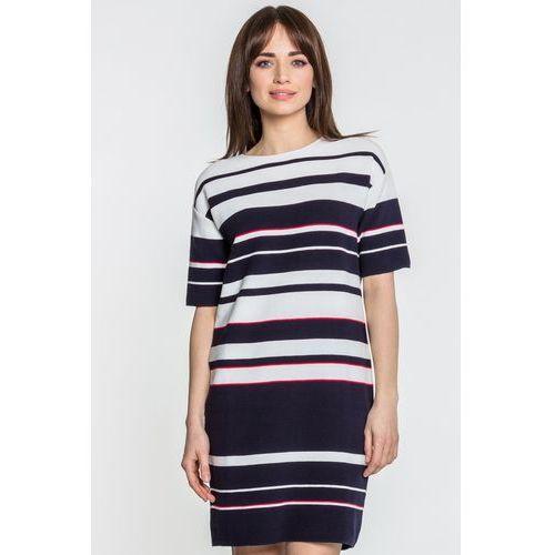 1da88dcbd3 Dzianinowa sukienka - Potis   Verso - porównaj zanim kupisz