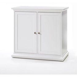 Romantyczna biała komoda PARIS 2 - biały
