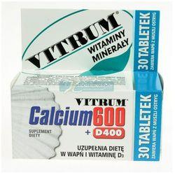 Vitrum Calcium 600 + Vit.D400 - 30tabletek