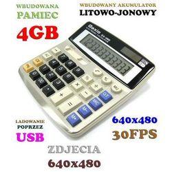 Szpiegowski Kalkulator (4GB), Nagrywający Obraz i Dźwięk + Aparat Foto itd.