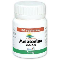 Melatonina 5 mg x 30 tabl