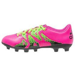 adidas Performance X 15.4 FXG Korki Lanki shock pink/solar green/core black
