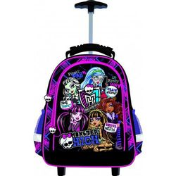 Plecak ST-MAJEWSKI na kółkach Monster High