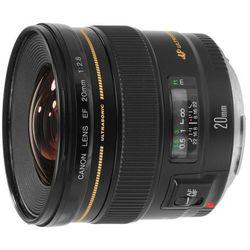 Canon 20 mm f/2.8 EF USM - Cashback 260 zł przy zakupie z aparatem! Dostawa GRATIS!