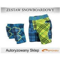 ZESTAW SNOWBOARD SPOKEY ALFA roz. S M L - NEW -