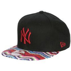 czapka z daszkiem New Era 9FI Multi Zag MLB New York Yankees - Black/Scarlet