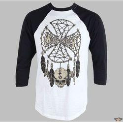 koszulka męskie NIEZALEŻNY - GRIND Łapacz BASEBALL - WHITE / BLACK