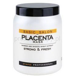 Stapiz Basic Salon Placenta maseczka nawilżająca do włosów osłabionych, łamliwych + do każdego zamówienia upominek.