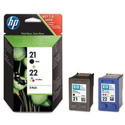 Zestaw tuszy HP 21+22 / SD367AE Black i Kolor do drukarek (Oryginalny)
