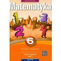 Matematyka 6 Zeszyt ćwiczeń Część 1 (opr. miękka)