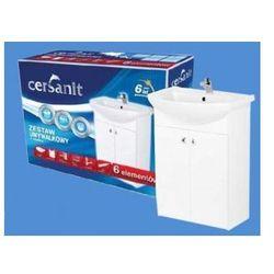 CERSANIT BIANCO + LIBRA 50 Zestaw łazienkowy 6w1 S509-042-DSM