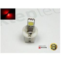 Żarówka Led T5 R5 2x SMD5050 w Oprawce Bx8.5d Czerwony