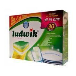 Tabletki do zmywarek Ludwik All in One 30 sztuk