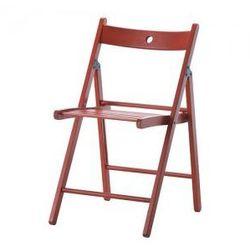 TERJE Krzesło składane, czerwony