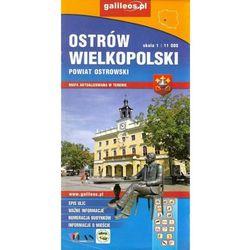 Ostrów Wielkopolski powiat Ostrowski mapa 1:11 000/1:70 000 Plan (opr. miękka)