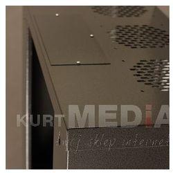 Szafa NetRack wisząca 19, 9U/240 mm grafit, drzwi przeszklone (019-090-240-012) Darmowy odbiór w 19 miastach!