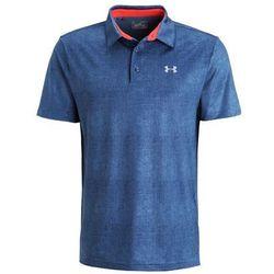 Under Armour PLAYOFF Koszulka polo slate blue/rocket red/steel
