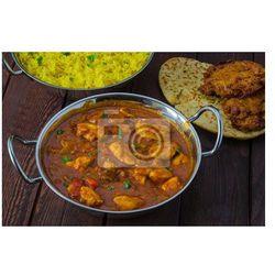 Plakat Curry z kurczaka