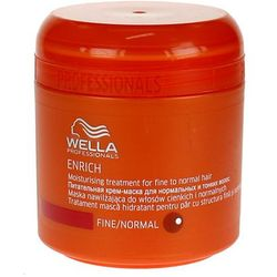 Wella Enrich Moisturising - maska nawilżająca do włosów cienkich 150ml