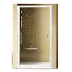 Drzwi prysznicowe NRDP2 Ravak Rapier 100cm prawe, białe + grape 0NNA010PZG