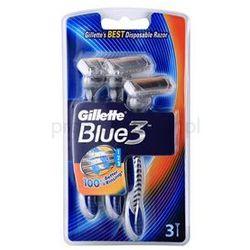 Gillette Blue 3 maszynki jednorazowe + do każdego zamówienia upominek.