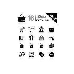 Foto naklejka samoprzylepna 100 x 100 cm - Podstawowe - e- sklep ikon