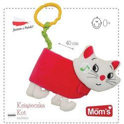 Mom's Care, Kot, miękka książeczka, zabawka niemowlęca Darmowa dostawa do sklepów SMYK