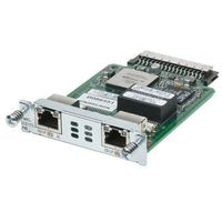 HWIC-2CE1T1-PRI 2 port channelized T1/E1, and PRI HWIC (data only) Cisco Router High-Speed WAN Interface card