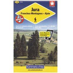 Szwajcaria Północno-zachodnia Jura mapa 1:60 000 Kummerly & Frey (opr. miękka)