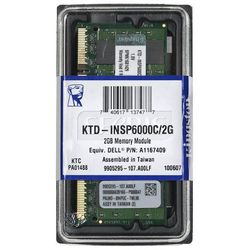 Pamięć RAM Kingston Ded.NB 2GB 800MHz DDR2 - KTD-INSP6000C/2G