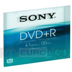 Sony DVD+R Slim case x16 - produkt w magazynie - szybka wysyłka!