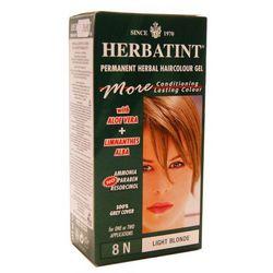 Herbatint - NATURALNA trwała farba do włosów - JASNY BLOND 8N