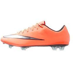 Nike Performance MERCURIAL VAPOR X FG Korki Lanki bright mango/metallic silver/hyper turquoise
