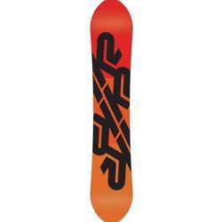 Snowboardy Bottle Rocket Biały/Pomarańczowa 156