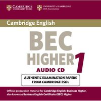 Cambridge BEC Higher 1 CD do Podręcznika