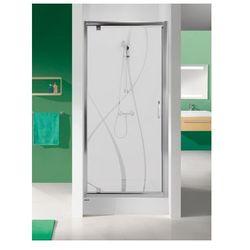 SANPLAST drzwi Tx 5 70 otwierane, szkło CR DJ/TX5b-70 600-271-1020-38-371