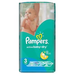 Pampers Active Baby VPMinus Midi