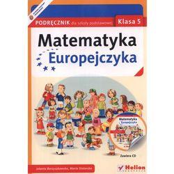 Matematyka Europejczyka 5 Podręcznik Z Płytą Cd (opr. miękka)