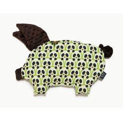 Poduszka-przytulanka ŚWINKA - sleepy pig La Millou - chocolate+panda gang