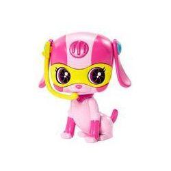 Zwierzaki Agentek Barbie Mattel (różowy piesek)